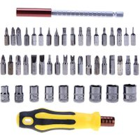 46 in 1 Universal Hand Screwdriver Set Phone Table PC Opening Repair Tools Set Kits Mobile Phones Appliances Repairing