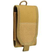 Outdoor Molle Nylon Phone Bag Waist Belt Pouch for 5.5in Mobile Phones